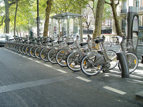 Bike share program