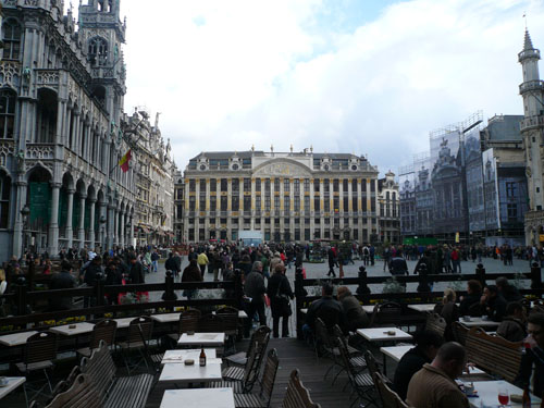 Brussels main square