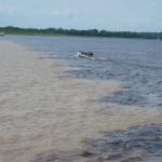 Meeting of the waters, Brazilian Amazon